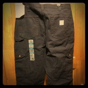 NWT Carhartt relaxed fit pants. Black 34x30
